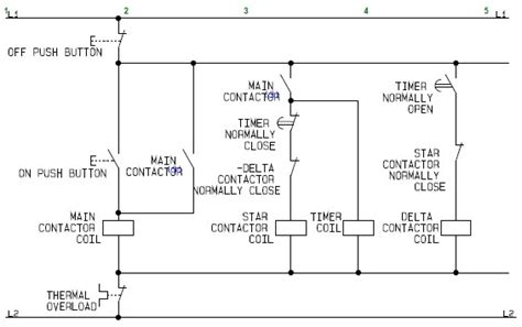 Flowchart Schematic Diagram For The Control Circuit