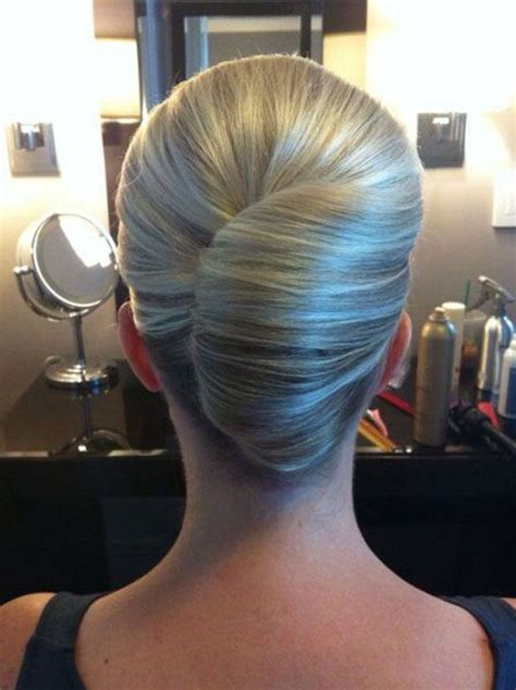 Classic Twist Updo Hairstyle by Sleek Twist Bridal Formal Hair Style Ideas