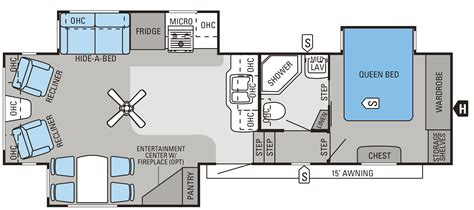 2012 Jayco 5th Wheel Floor Plans by 2014 Eagle Fifth Wheels Floorplans Prices Jayco Inc