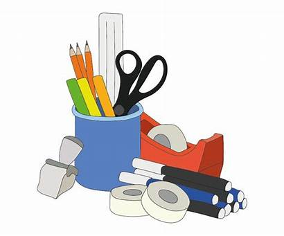 Supplies Clipart Stationery Office Clip Pinclipart Library