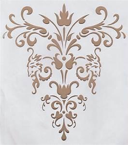 Schablone Wand Barock : details zu xl schablone m bel wand americana ornament amour stencil shabby chic diy 05 tapeten ~ Bigdaddyawards.com Haus und Dekorationen