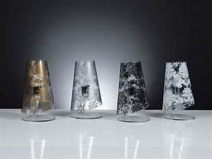 Abat Jour Design : abat jour moderno babette colore bianco nero oro argento ~ Melissatoandfro.com Idées de Décoration