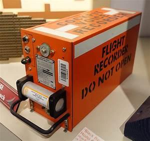 File:Black Box Cockpit Voice Recorder, Model AV557D ...