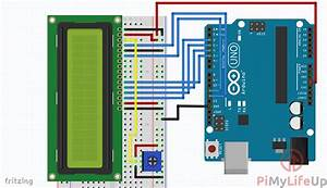 Arduino Lcd Using A 16x2 Liquid Crystal Display