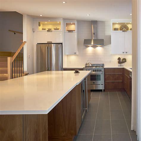 cuisine contemporaine bois cuisines beauregard cuisine réalisation 330 cuisine