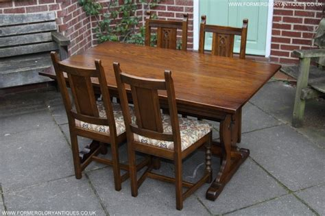 charm light oak kitchen dining set table four chairs