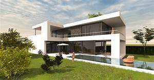 Modernes Haus Grundriss : architektenhaus l form bauen moderne architektur form ~ Lizthompson.info Haus und Dekorationen