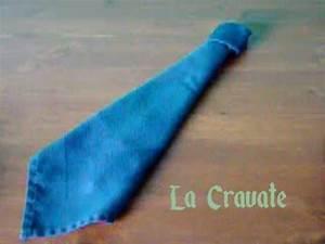 Comment Nouer Une Cravate : comment plier une cravate en napkin youtube ~ Melissatoandfro.com Idées de Décoration