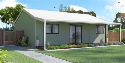 One Bedroom Kit House by Flats Affordable Flats Steel Frame