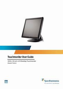 Elo Touchsystems Et1915l User Manual