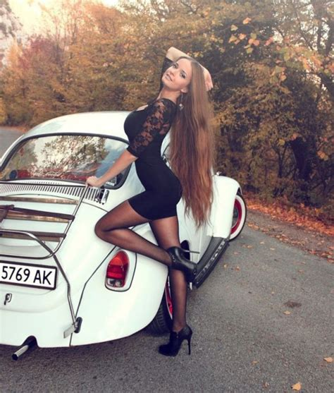 ladies posing with cars can we if we don t get