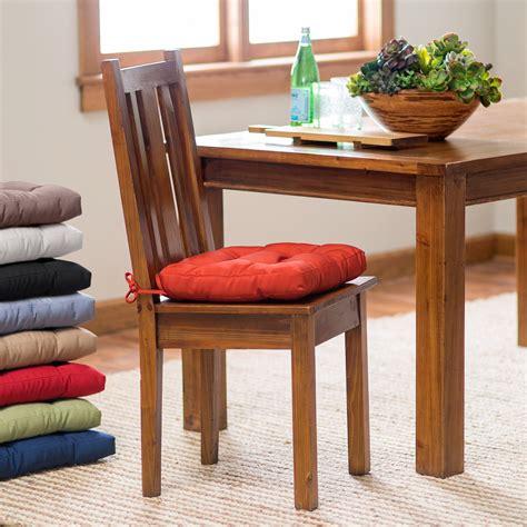 deauville     tufted kitchen chair cushion