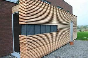 Bardage Façade Maison : photo 5 home elevation in 2019 ~ Nature-et-papiers.com Idées de Décoration