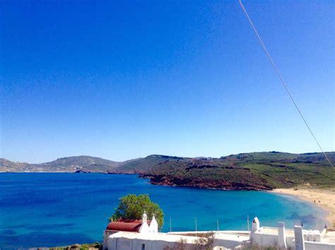 Agios Sostis Beach In Mykonos Island Greece Mykonos