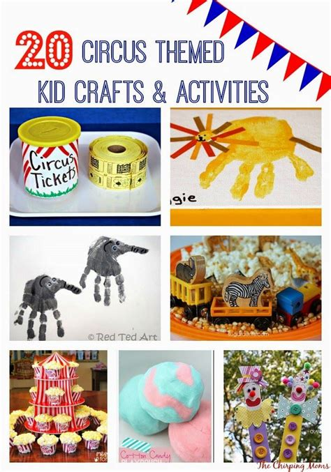 best 25 circus theme crafts ideas on circus 746 | f6a8dd5cd800131c51d188e8fd3f444a circus crafts preschool craft activities for kids