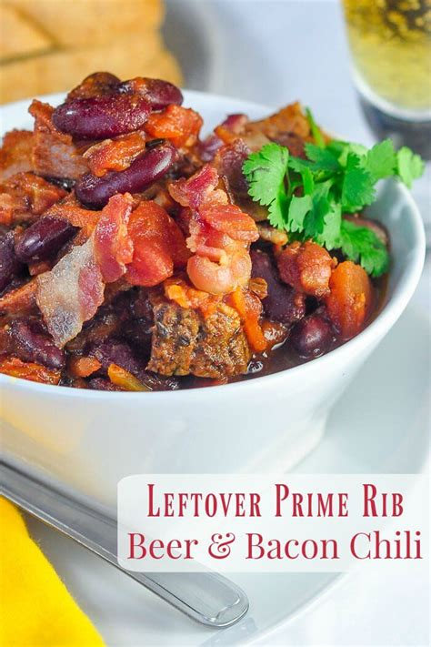Use the saute feature to brown the ground beef and/or uncooked steak. Prime Rib Beer Bacon Chili | Recipe | Prime rib, Prime rib ...