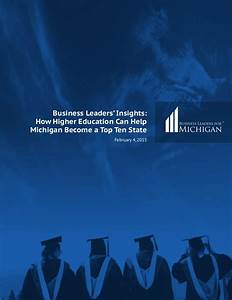Business Leaders' Insights: How Higher Education Can Help ...