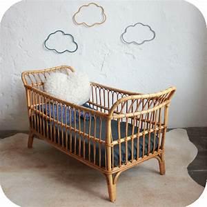 Lit Bebe Rotin : lit bebe ancien nantes atelier du petit parc ~ Teatrodelosmanantiales.com Idées de Décoration