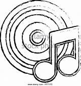 Vinyl Record Drawing Player Template Coloring Drawings Getdrawings sketch template