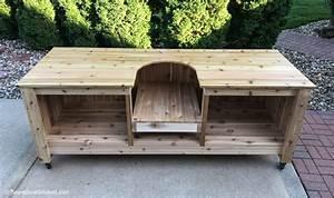 Plans To Build A Big Green Egg Table Brokeasshome com