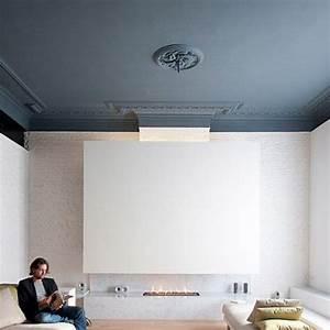 Peindre un plafond en couleur toutes nos inspirations for Peindre un plafond en couleur
