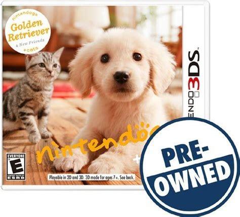 nintendogs cats golden retriever  friends pre