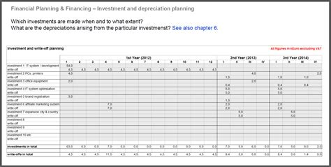 Financial Business Plan Sample — db-excel.com