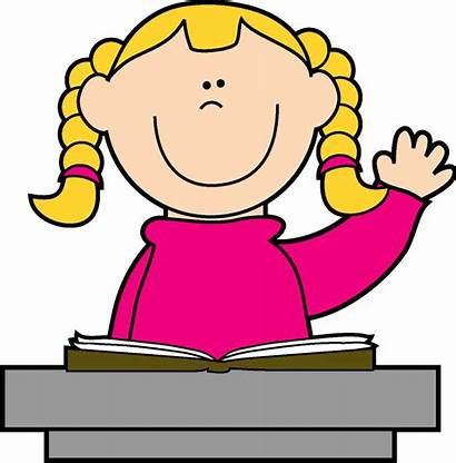 Clip Clipart Student Thinking Students Grade 1st