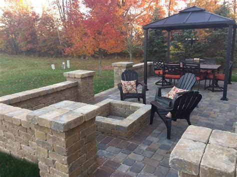 Patio Pictures by Is Fall A Time To Install A Paver Patio Proscape