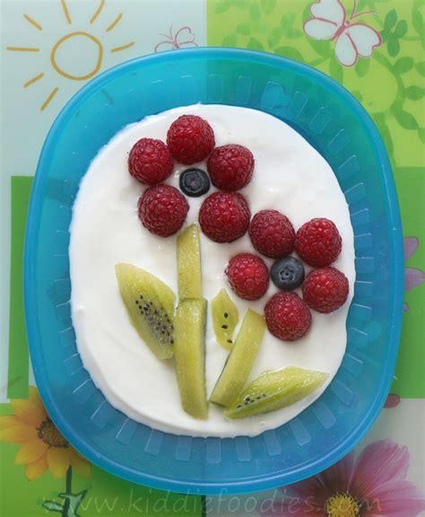fresh fruit flower healthy and easy dessert recipe