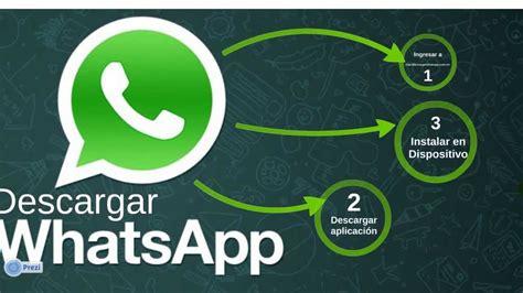 descargar whatsapp  cualquier celular dispositivo