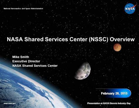 nasa enterprise service desk nasa shared services center nssc overview ppt download