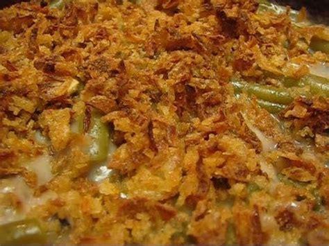 bettys version  campbells classic green bean casserole