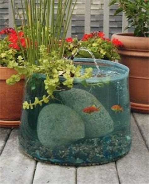 diy small garden pond