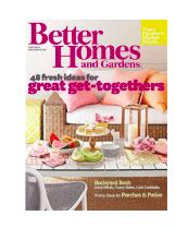 free one year subscription to better homes gardens all
