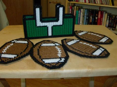 Football Coasters & Holder Sports Coasters Goal Holder And