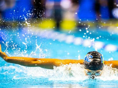 A stretch of salvadoran shoreline called surf city is the location for the final qualifying rounds for surfing's debut as an olympic. Breathing Pattern In The 100 Butterfly - News Break