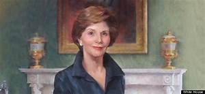 First Lady Laura Welch Bush Official Portrait Unveiled (PHOTO)