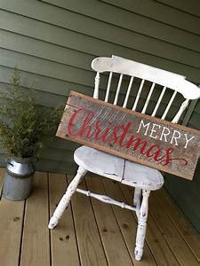 17 best ideas about merry christmas signs on pinterest for Barnwood sign ideas