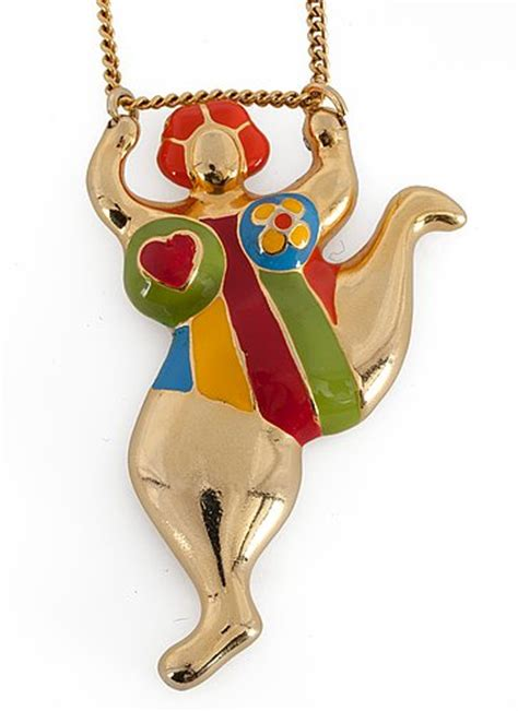 niki de saint phalle necklace  bukowskis