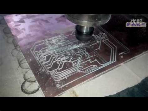 Cnc Engraving Machine Router For Pcb Prototype Making