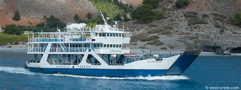 Ferry Boat Developments by Ferry Boats On The South Coast Of Crete