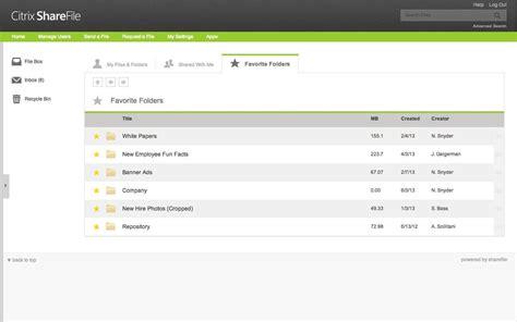 sharefile alternatives  similar software