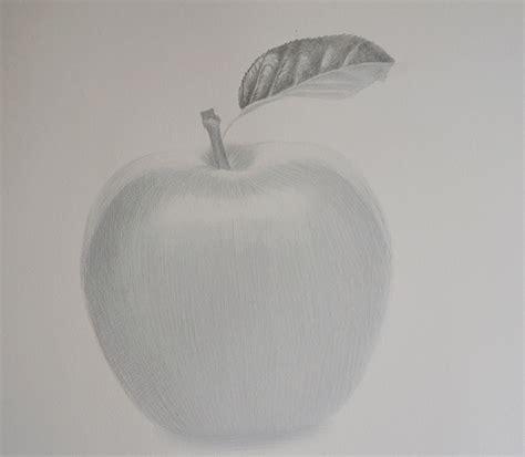 einen apfel zeichnen step  step malschule kreativ