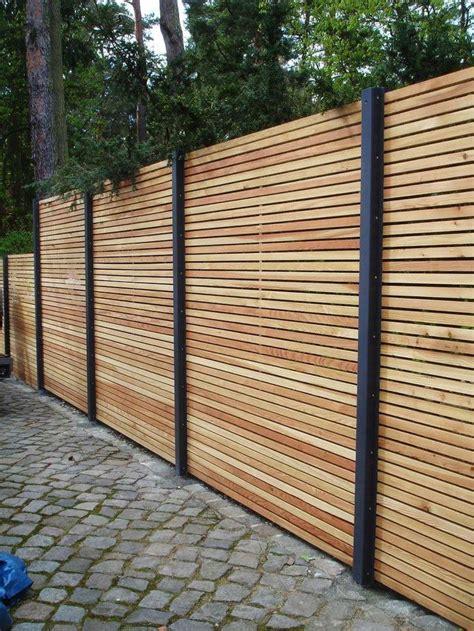 Garten Sichtschutz Günstig by Die 25 Besten Sichtschutzzaun Holz Ideen Auf