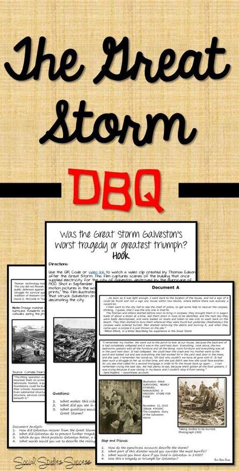 Texas History 7th Grade - THE GREAT STORM - GALVESTON ...