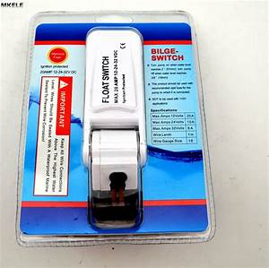 Automatic Electric Water Pump Float Switch Dc Float Switch