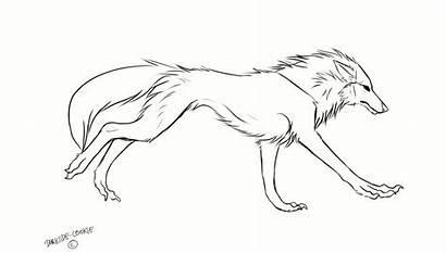 Wolf Running Animation Drawing Cookie Darkside Deviantart