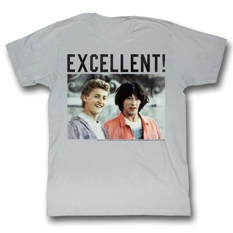 Bill And Ted Shirt Be Excellent! Athletic Heather Tee T