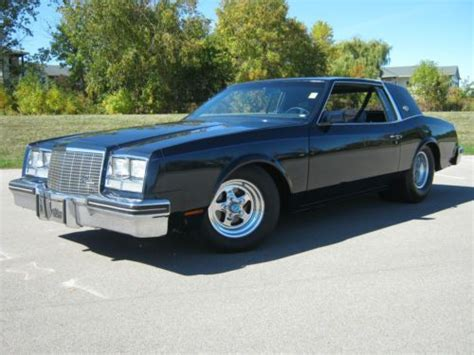 Buy Used 1980 Buick Riviera S Coupe Luxury Pro Street In